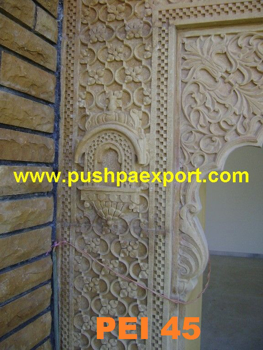 Sandstone Carving Wall Panel